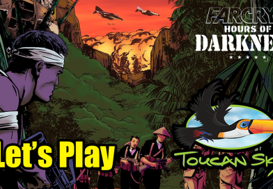 Title screen for Far Cry 5 Hours of Darkness stream